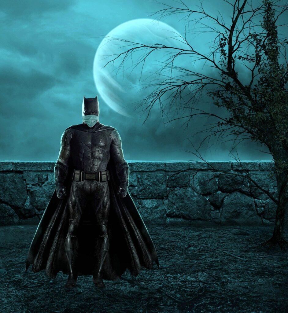 batman, protection, corona
