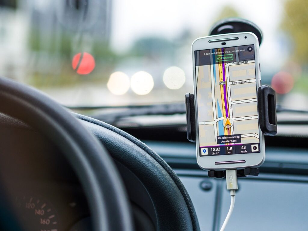 navigation, car, drive